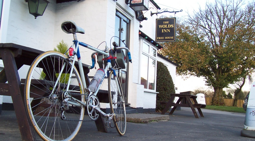 Yorkshire Wolds Cycle Route Way of the Roses Wolds Inn