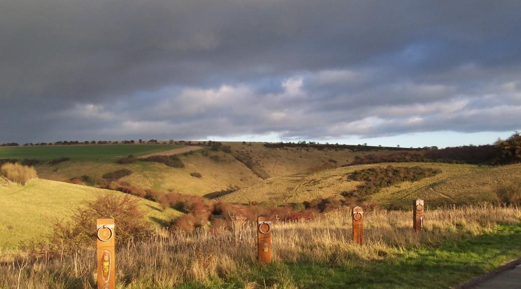 Yorkshire Wolds Millington Dale