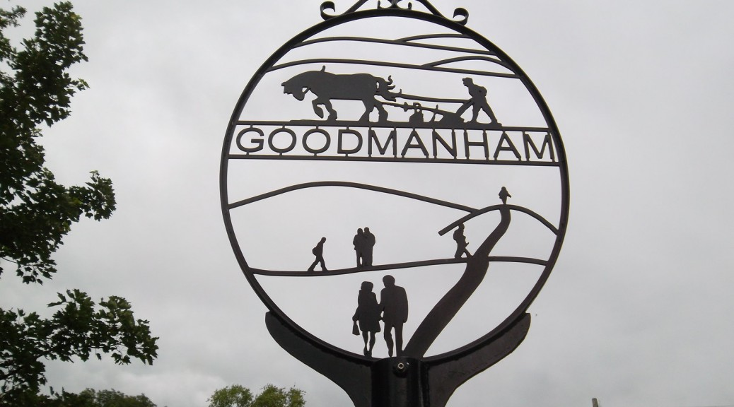 goodmanham-village-sign-big-skies-bike-ride-yorkshire-wolds-market-weighton